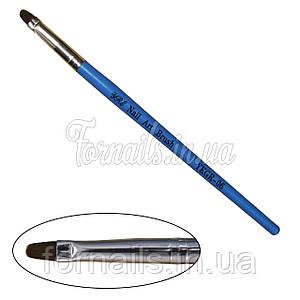 Кисть для геля YRE YKGR-04, синяя Y-32