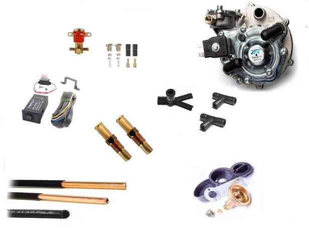 Комплект ГБО на Audi (карбюратор)Трубка медная.Редуктор Tomasetto, фото 2