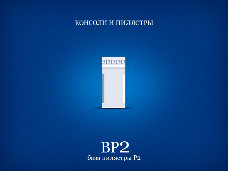 БАЗА СТВОЛА ПИЛЯСТРЫ P2