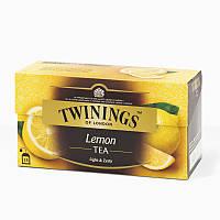 Чай черный Twinings Лимон, 25п.х2г