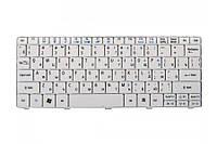 Клавиатура для ноутбука ACER (One: 521, 522, 532, 533, D255, D257, D260, D270, Happy; EM: 350, 355), rus, white