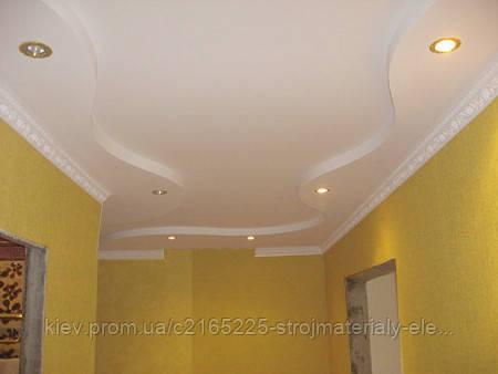 Короб потолок из гипсокартона