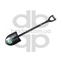 Лопата штыковая остроконечная с металлическим черенком