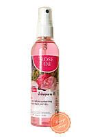 Массажное аромамасло для тела Banna Роза. Aroma body oil Rose Banna.