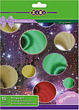 Набір кольоровий фольгованого паперу А4 10л, 10кол., фото 2