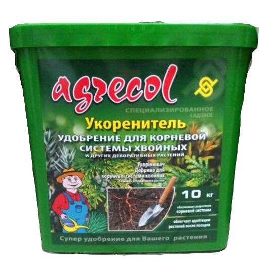 Добриво для кореневої системи хвойних рослин Agrecol 10 кг