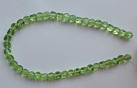 Бусина Шар фигурный цвет св. зеленый 8 мм