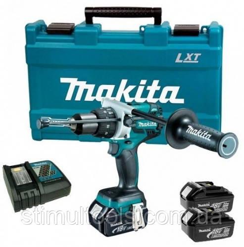 Аккумуляторный шуруповерт Makita DDF481RFE