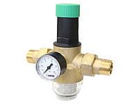Редуктор давления HERZ- 2682, диапазон регулировки 1,0-6,0 бар,Ду15мм. Температура 0-40 С.