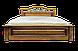 Кровать двуспальная из натурального дерева Версаль белая, фото 9