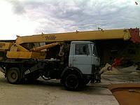 Аренда автокрана КС-3577 14 тонн в Днепропетровске, фото 1