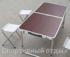 Набор мебели для пикника стол + 4 стула