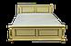Письменный стол из дерева Версаль 120*75*60 коньяк, фото 8