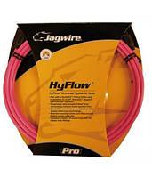 Комплект JAGWIRE Mountain Pro (HYFLOW) HBK407 под гидравл. тормоз (Teflon/Kevlar) - Hot pink