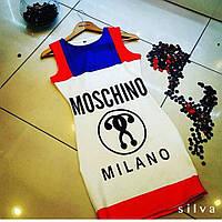 Платье короткое по фигуре Moschino Milano 372 (НКН)