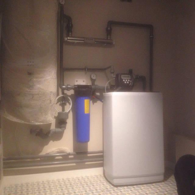 Система водоочистки в квартире собрана и ждет окончания ремонта для запуска