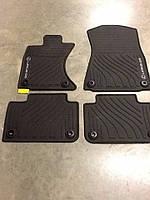 Lexus GS GS350 GS450 2013-17 коврики резиновые передние задние AWD (полный привод) новые оригинал