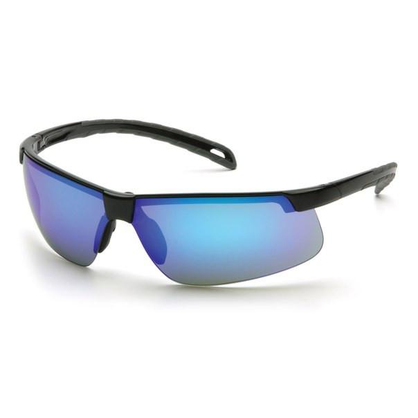 Окуляри спортивні захисні з блакитними зеркальнымми лінзами Pyramex Ever-Lite (ice blue mirror)
