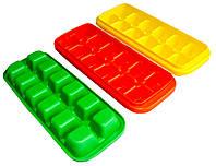 Формы для льда КУБИК пластиковые цветные, фото 1