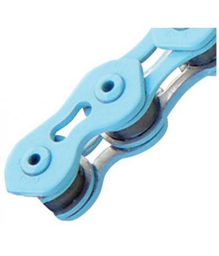 Цепь инд. 100 зв. 1/2x1/8 KMC K710SL royal blue