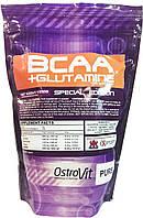 BCAA + L-Glutamine OstroVit, 1000 грамм (без вкуса)