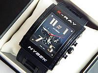 Мужские механические наручные часы Jorg Hysek X-ray на каучуковом ремешке