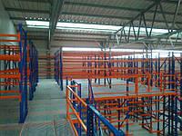 Стеллаж мезонин (многоэтажный стеллаж)