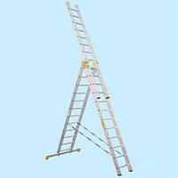 Лестница универсальная трехсекционная Virastar Р3 9314 (10.31 м)