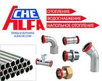 Труба из оцинкованной стали Alfa Che - аналог EUROTUBI