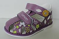 Детская летняя обувь, босоножки для девочки тм Clibee р.21