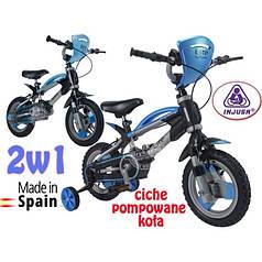 Дитячий велосипед + знімні колеса Іnjusa 12001