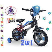 Детский велосипед + съемные колеса Injusa 12001, фото 3