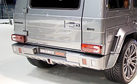 Задний бампер BRABUS Mercedes-Benz G-Class W463