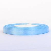 Лента атласная 0,6 см небесно-голубая