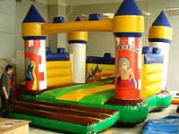 Крепость - надувной игровой комплекс