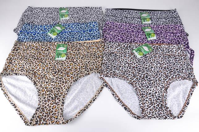 Женские трусики Батал Бамбук (H3357)   24 шт., фото 2