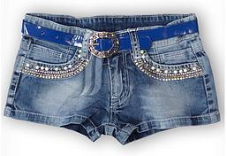 Шорти джинсові на дівчинку