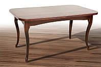 Стол обеденный деревянный Мартин, темный орех