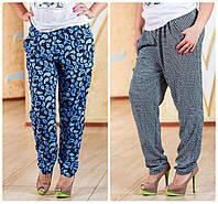 Летние брюки большого размера 50-56