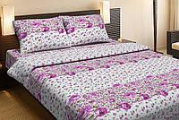 Постельное белье Lotus Ranforce Merci розовый двуспального размера