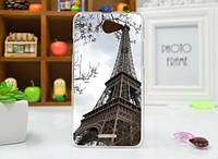 Силиконовый чехол накладка для HTC Desire 516 с картинкой башня