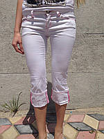 Бриджи женские белые HDL