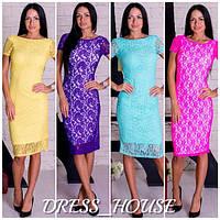 Гипюровое женское платье и-40225