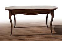 Стол деревянный раскладной обеденный Оливер, темный орех