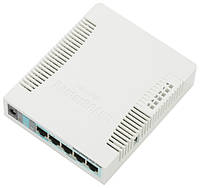 Роутер MikroTik RouterBOARD RB951G-2HnD, 5 LAN 100/1000Mb