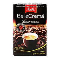 Кофе молотый Melitta BellaCrema Espresso 250г