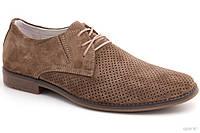 Летние туфли с перфорацией Affinity 1629-380 беж замш