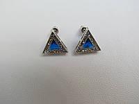 """Серьги """"Треугольник"""" Б-565"""