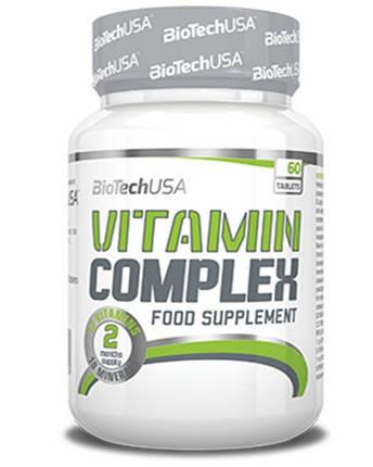 Вітаміни BioTech Vitamin Complex 60 tabs, фото 2