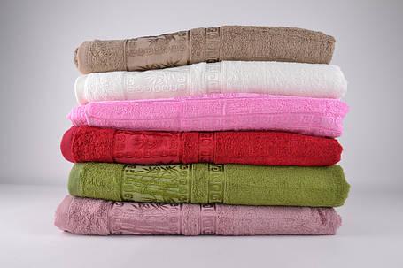 Банное махровое полотенце (MB04)   6 шт., фото 2